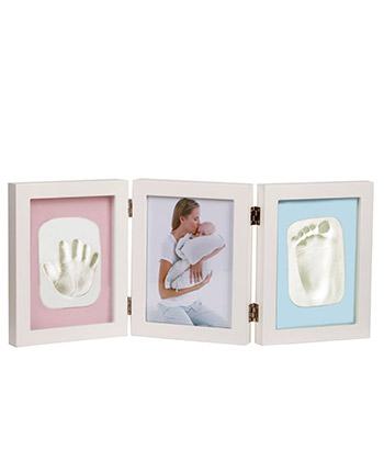 fotorámček s otlačkom ruky alebo nohy