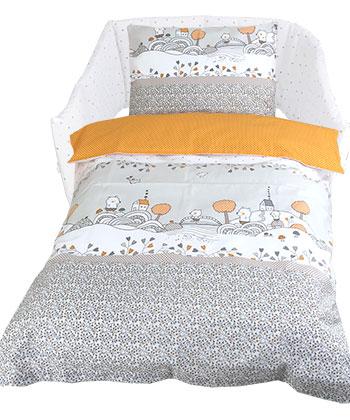 Textilné príslušentsvo k postieľke návliečky