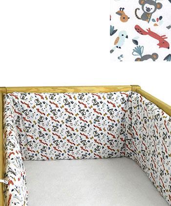 Textilné príslušentsvo k postieľke hniezda