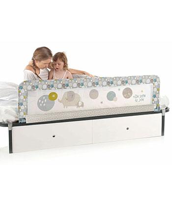 zábrana na posteľ spúšťacia 150 cm JANÉ