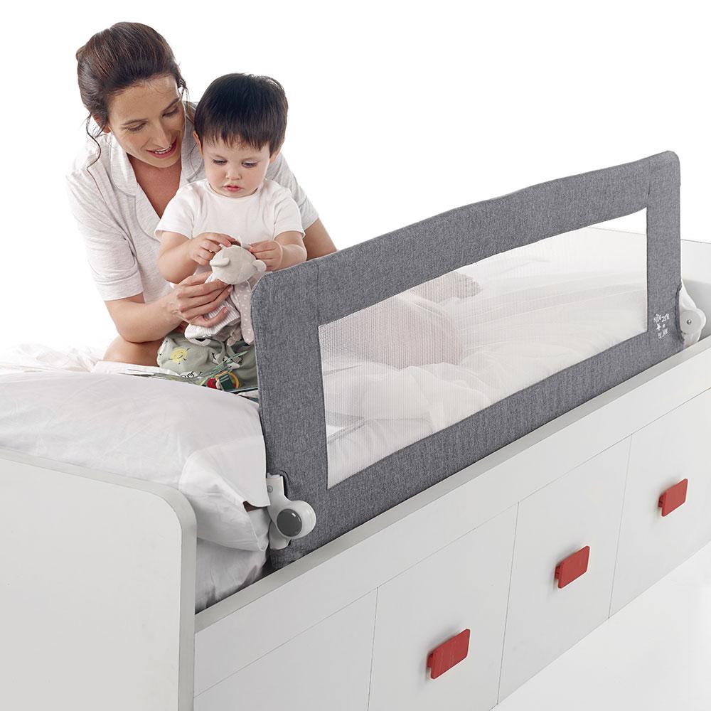 zábrana na posteľ spúšťacia 150 cm  JANE