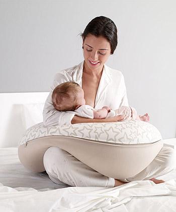Tehotenský vankúš pre mamičku a dieťa